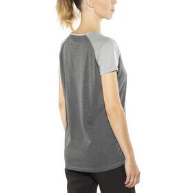 Bergans Filtvet T-shirt Femme, graphite melange/grey melange